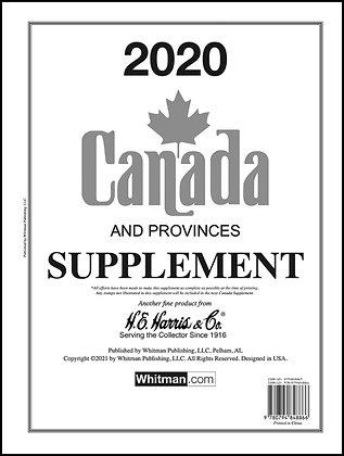 CA-20:   2020 Harris Canada Album Supplement