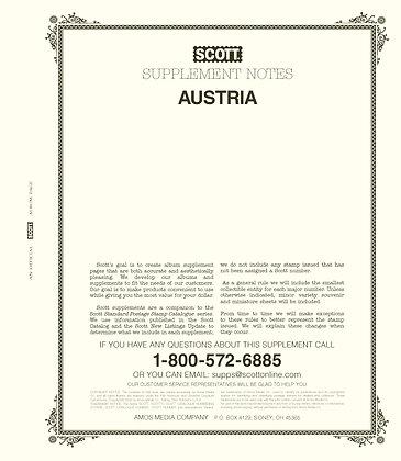 2020 Scott Austria Supplement #22