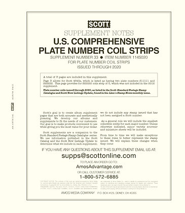 2020 Scott U.S. Comprehensive PNC #33