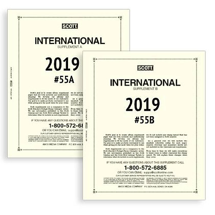 IN-55 2019 International Parts 55A and 55B complete
