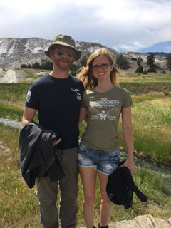 Jake and I in Yellowstone