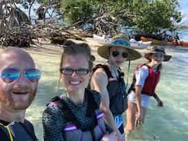Family in the Florida Keys