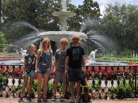 The family in Savannah, GA