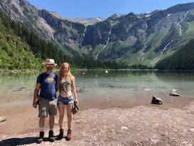 Jake and I in Glacier National Park