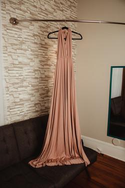 Rose Maternity Dress