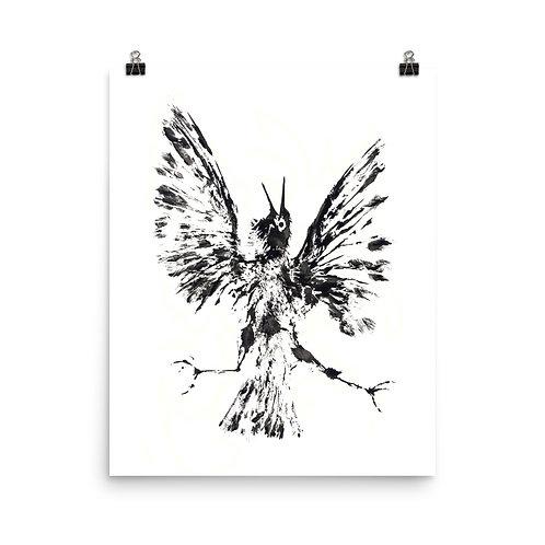 Poster - European Starling (IA11V2)