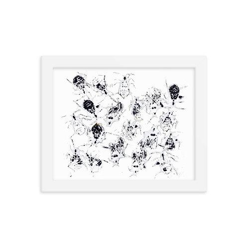 Framed photo paper poster - Cactus Bug (IA98V)