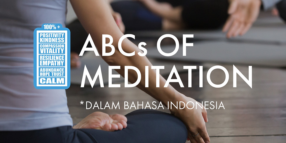 The ABCs of Meditation Batch 12 Week 2