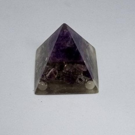 Crystal - Amethyst Pyramid