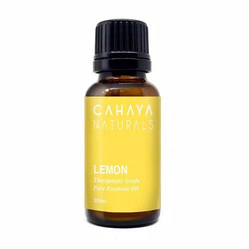 CAHAYA NATURALS - Lemon Essential Oil