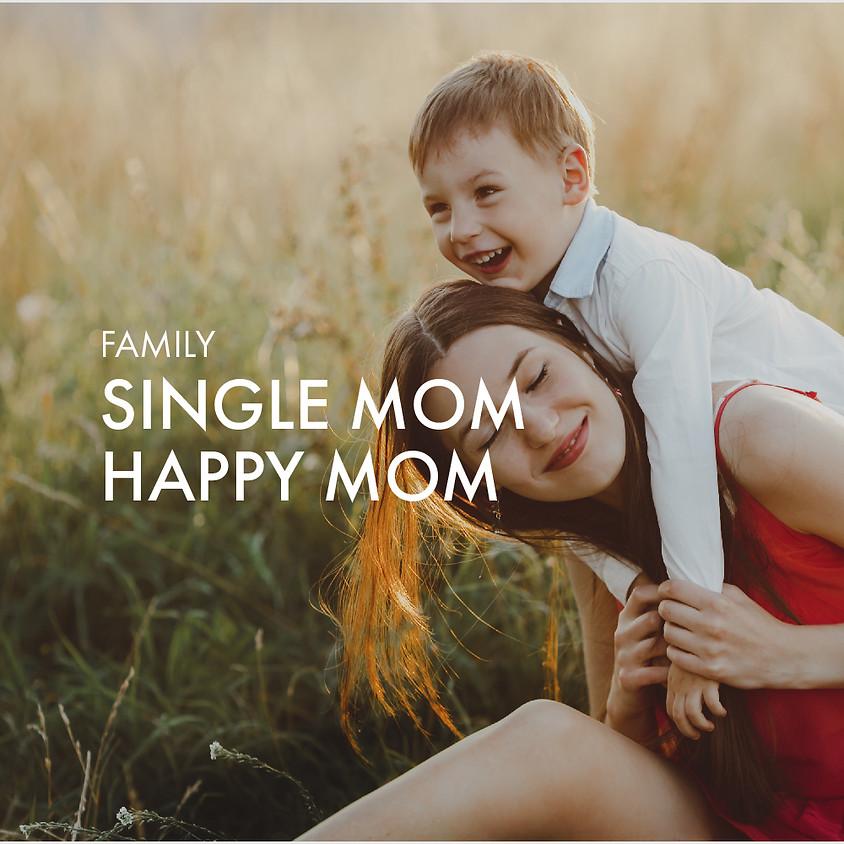 Single Mom Happy Mom