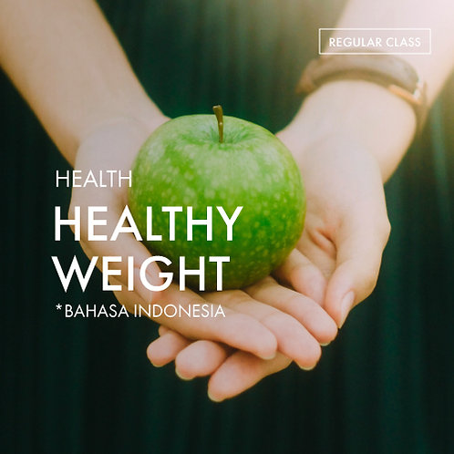 Health: Healthy Weight