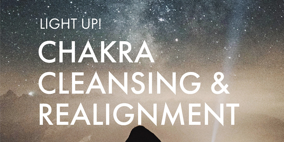 For Awaken The Divine You Graduates: Light Up! Chakra Cleansing & Realignment