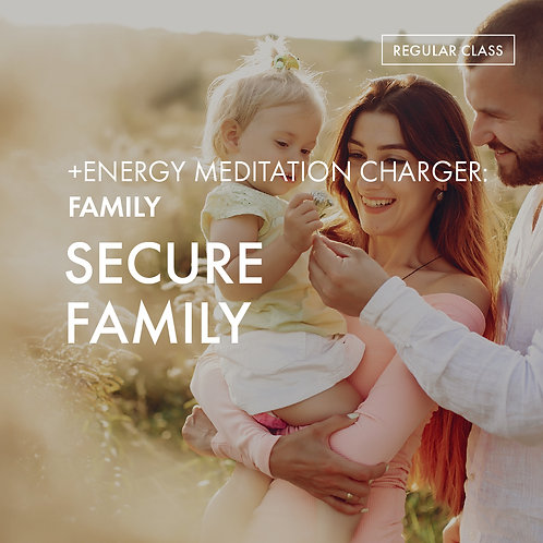 +Energy Meditation Charger @Family: Secure Family