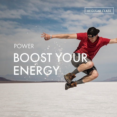 Power: Boost Your Energy