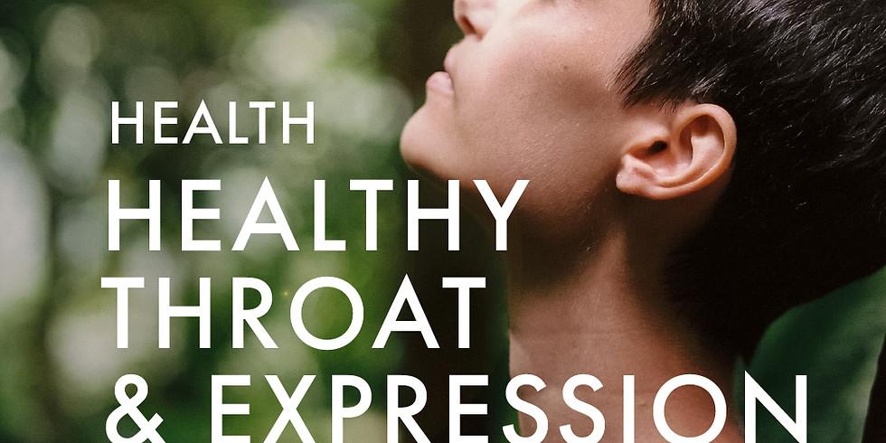 Health: Healthy Throat & Expression