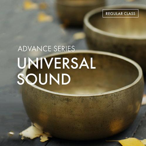 Advanced Series: Universal Sound