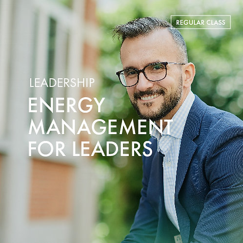 +Energy Meditation Charger @Leadership: Energy Management for Leaders