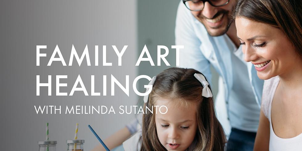 Family Art Healing Invitation