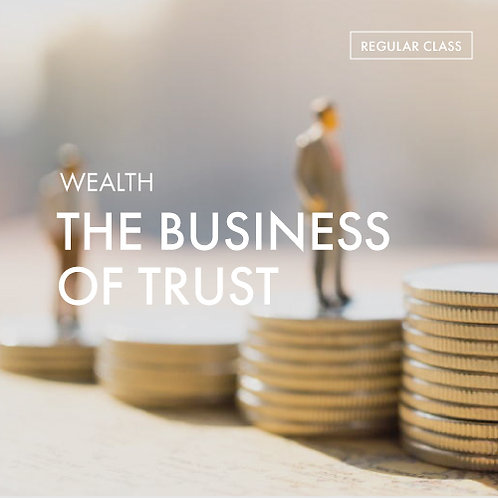+Energy Meditation Charger @Wealth: The Business of Trust