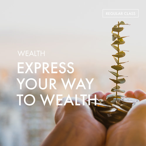 +Energy Meditation Charger @Wealth: Express Your Way to Wealth