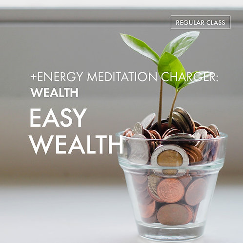 +Energy Meditation Charger @Wealth: Easy Wealth