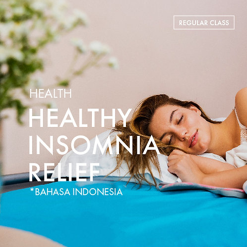 Health: Healthy Insomnia Relief