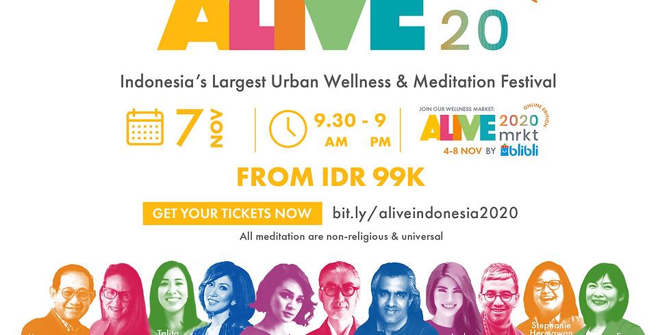ALIVE 2020 Online Edition - Goodie Bag