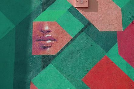 Nose & Lips Wall Art
