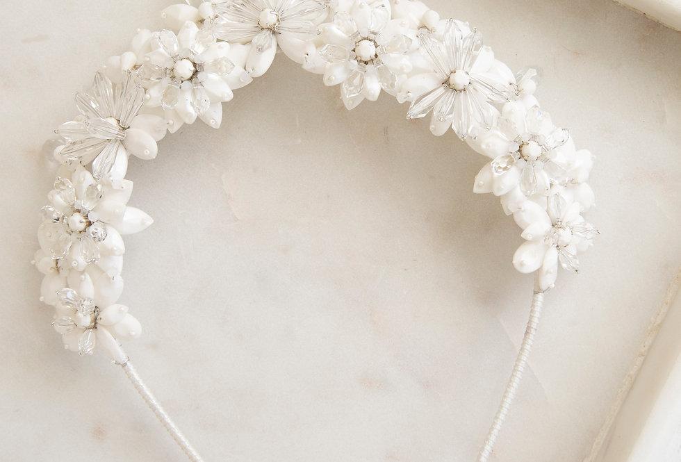 Stella Crown (off white eller antikk gull)
