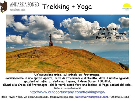 Trekking + Yoga- April 24th 9am-7pm