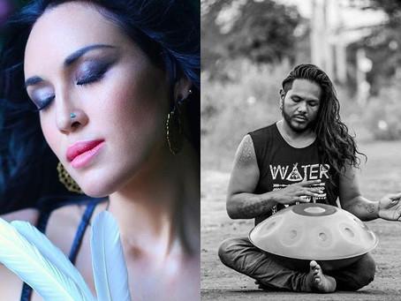 TONIGHT - STASERA  Enjoy a live concert with @sundari_aleph and @pranaforceyogabria  while in shavas