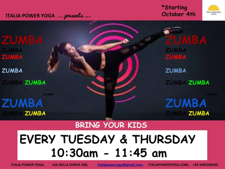 ZUMBA with Giulietta Evans