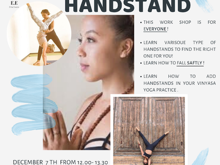 Learn how to handstand with Etta Evans