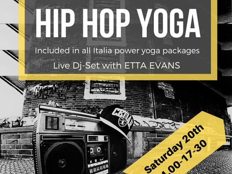 Hip Hop Yoga ! This Saturday ( Jan 20th )