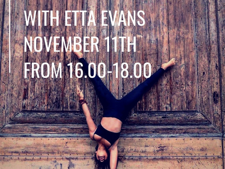 Handstand\ Inversion + Transition Workshop with Etta Evans