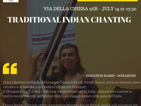 TRADITIONAL INDIAN CHANTING