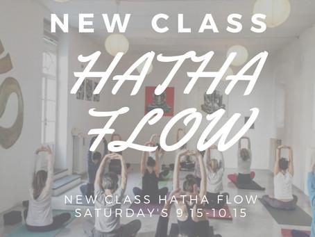 NEW Hatha Flow Class!