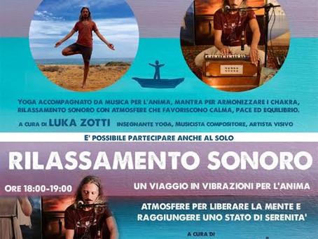 Seminario Yoga & Musica  con Rilassamento Sonoro  a cura di Luka Zotti