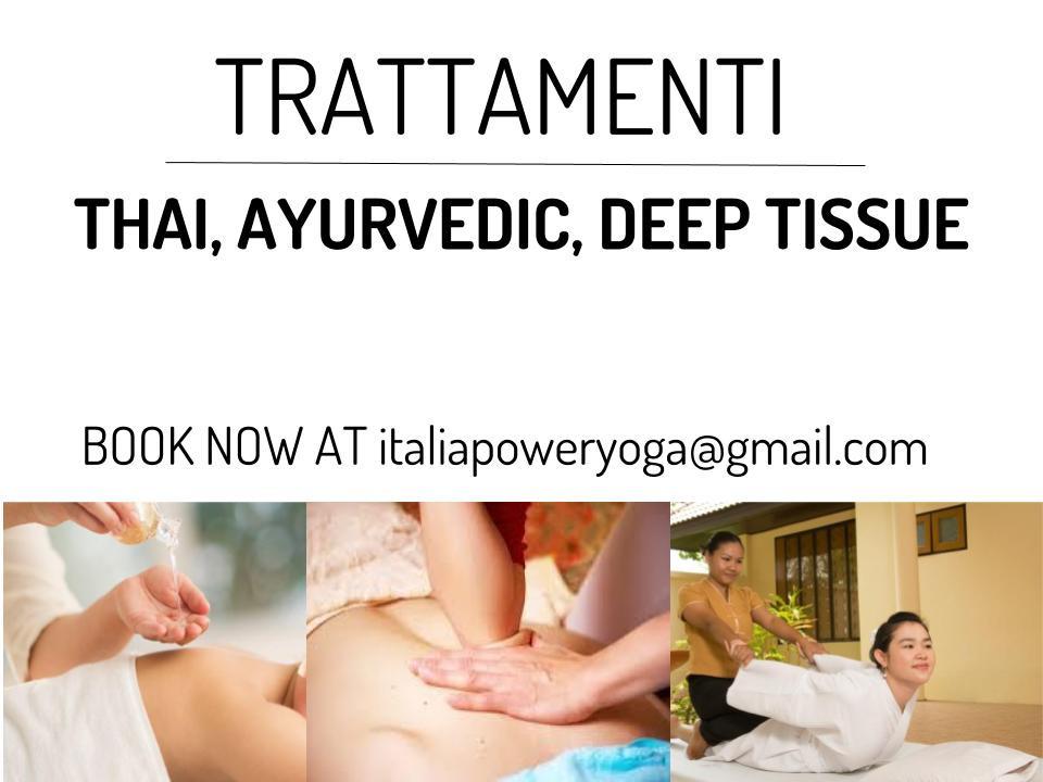 Fissa il tuo appuntamento direttamente in sede oppure con um email a italiapoweryoga@gmail.com