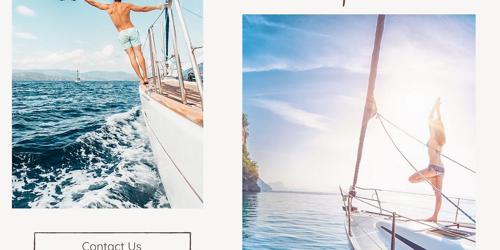 Corsica Sail Boat Yoga Retreat