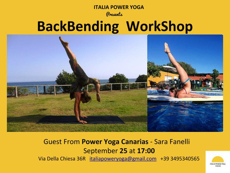 Back Bending Workshop with Sara Fanelli