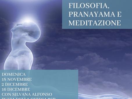 Meditation, Pranayama with Silvana Alfonso