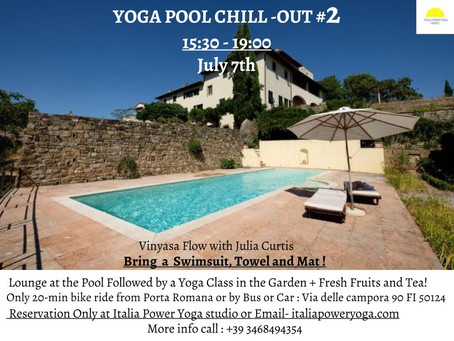 YOGA POOL CHILL-OUT 7th of June 15:30-19:00