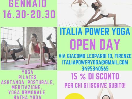 Open Day il 23 Gennaio dalle 16.30 alle 20.30 in via leopardi 10