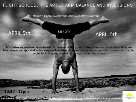 FLYING WORKSHOP \ APRIL 5th from 10:30-12pm