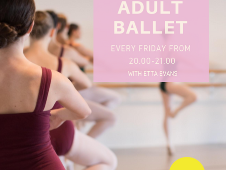 Adult Ballet - Every Friday