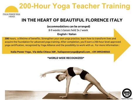 TEACHER TRAINING - 200 hour Yoga Alliance World Wide Recognized