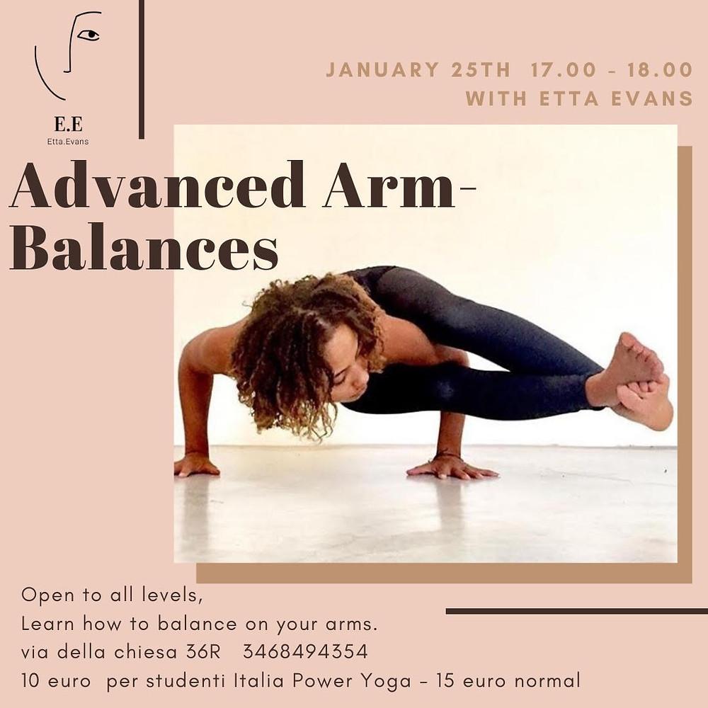 Advanced Arm balance