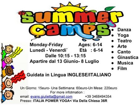 Summer Dance Camp w Giulietta Evans